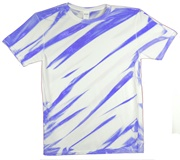 Image for Neon Blue Zebra Stripe
