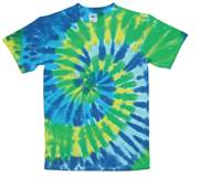 Image for Green Coral Swirl Tie Dye