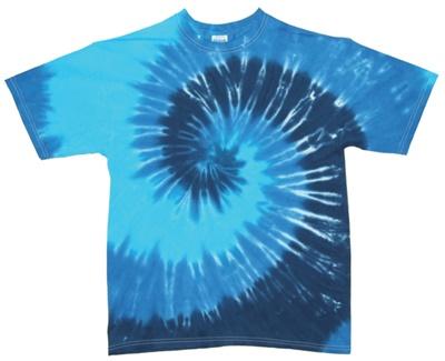 Image for Blue Lagoon Swirl Tie Dye