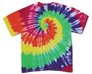 Image for Green Rainbow Swirl Tie Dye