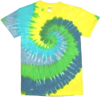 Image for Palm Tree Swirl Tie Dye