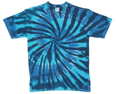 Image for Blue Hurricane Tie Dye