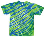 Image for Lime/Royal Zebra Stripe