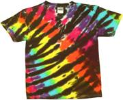 Image for Black Rainbow Cyclone Tie Dye
