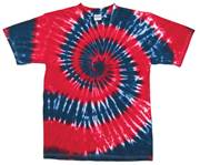Image for Red/Navy Swirl