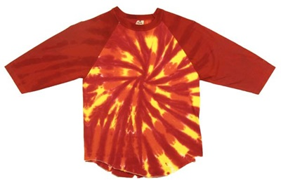 Image for Fire Red Hurricane Raglan