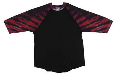 Image for Red/Black Hurricane Raglan Sleeve