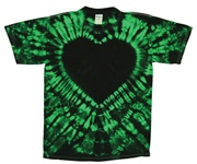 Image for Malachite Crinkle Heart
