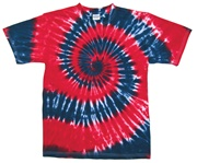 Red/Navy Swirl