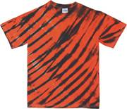 Image for Orange/Black Zebra Stripe