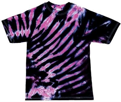 Image for Pink/Black Zebra Stripe