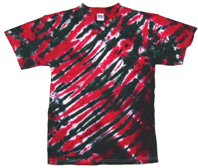 Image for Red/Black Zebra Stripe