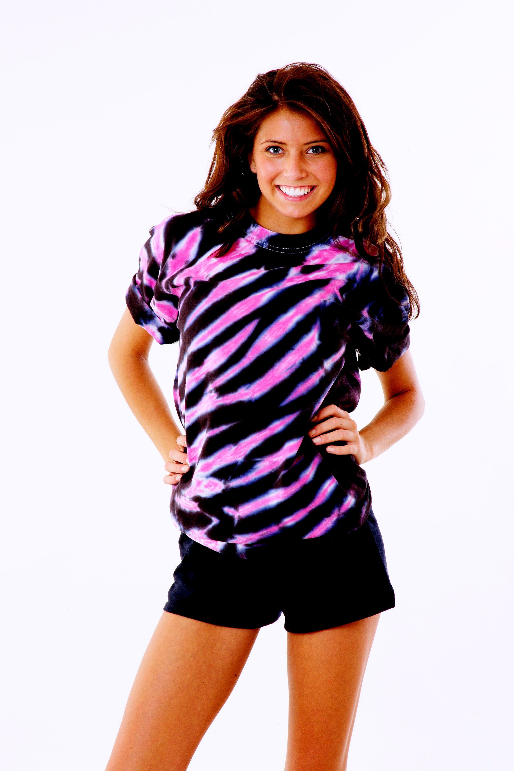 Black Pink Tiger Stripe