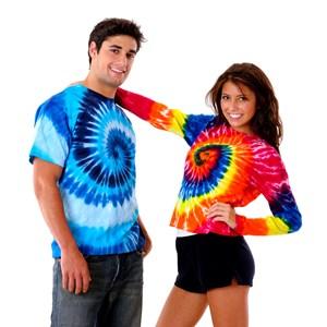 Tie Dye Couple