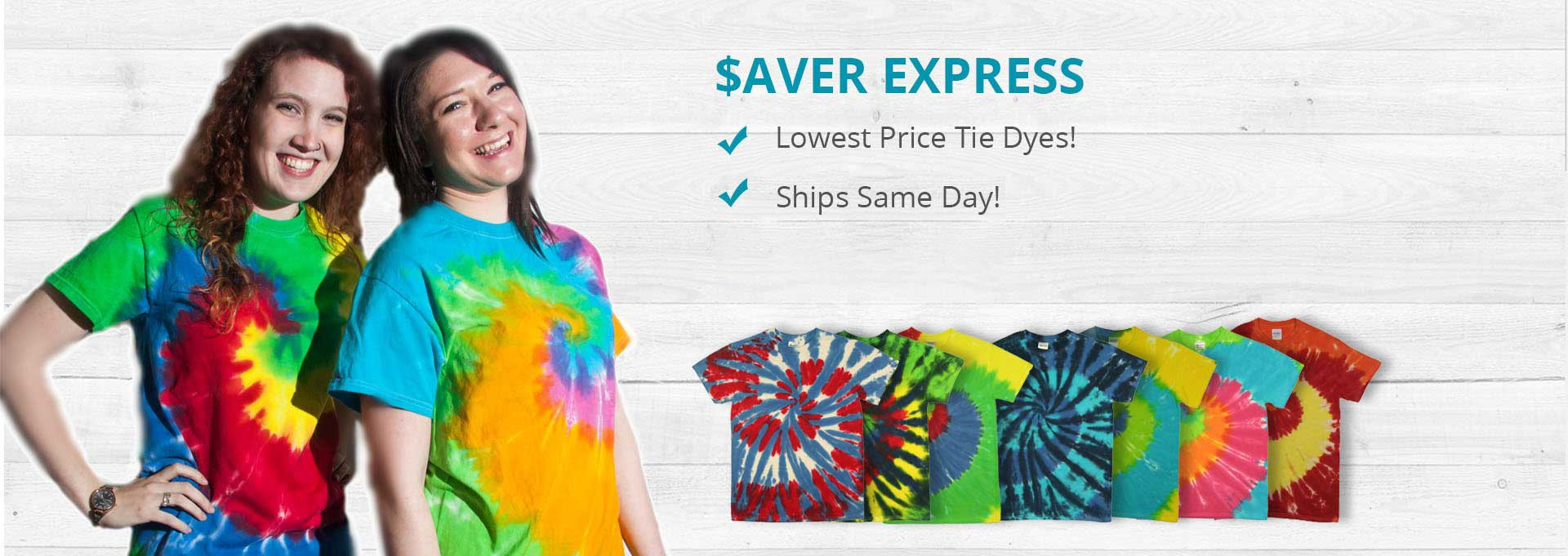 Saver Express on Tie Dye Wholesaler